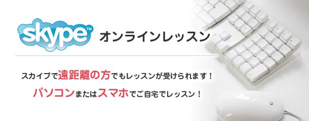 ご自宅でオンラインスカイプレッスン|ブログの書き方講座|東京