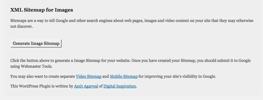【wordpress】画像サイトマップ プラグインは 更新&再送信が必要