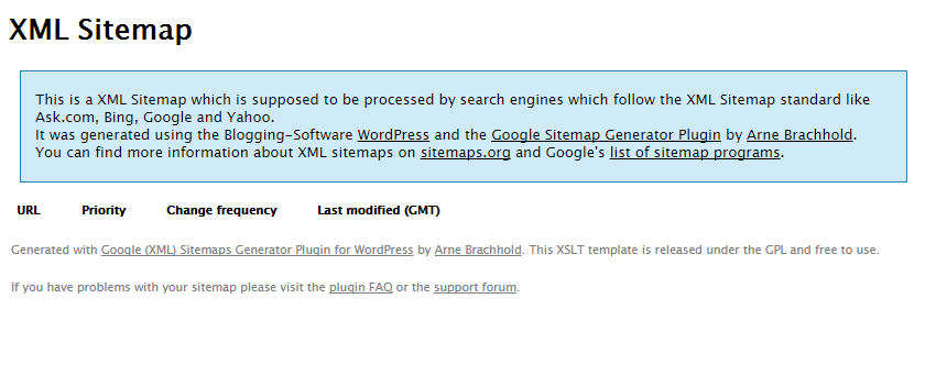 【wordpress】XML Sitemap for Imagesでサイトマップが生成されない