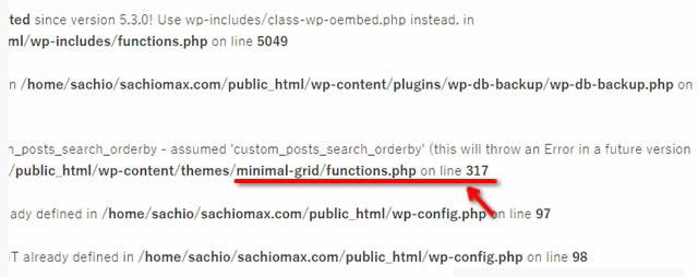 【WordPress】All in One SEOバージョン4.0.11で投稿編集エラー-05